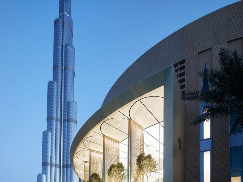 سومین اپل استور امارات افتتاح شد