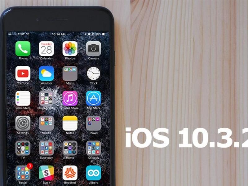 نسخه نهایی iOS 10.3.2 عرضه شد