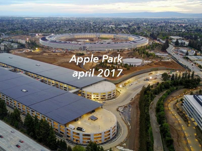 ویدیو: نگاهی به مراحل پیشرفت ساخت و ساز اپل پارک