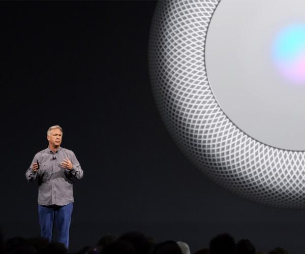 اپل از اسپیکر هوشمند خود با نام HomePod رونمایی کرد