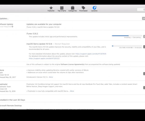 نسخه نهایی macOS 10.12.6 عرضه شد