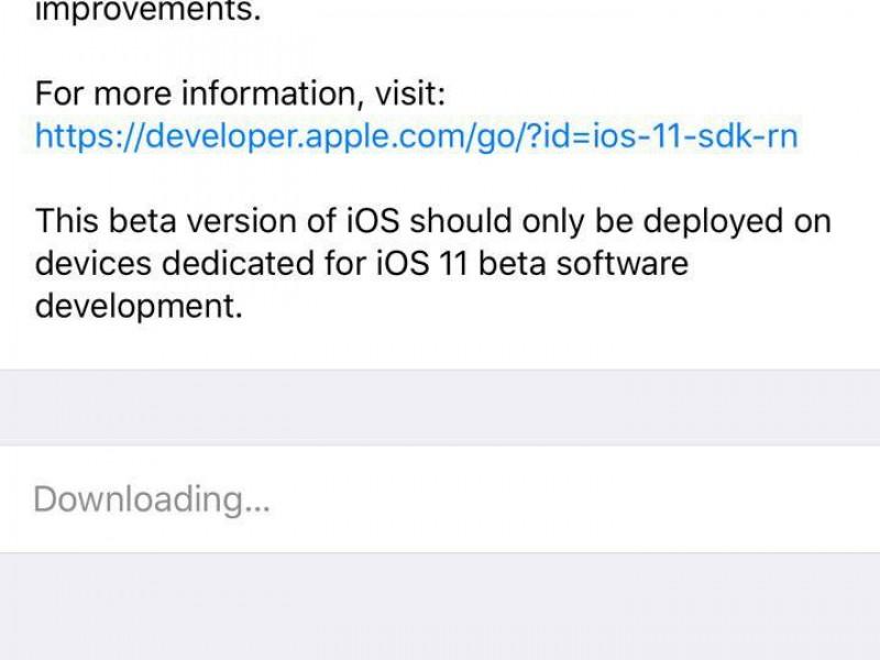 iOS 11 بتا 5 منتشر شد