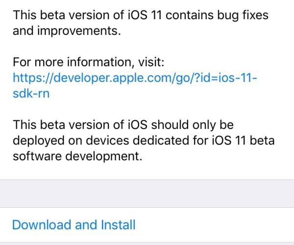 نهمین نسخه آزمایشی از iOS 11, tvOS 11 و macOS High Sierra عرضه شد