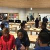 آلبوم تصاویر افتتاحیه اپل استور جدید در شیکاگو