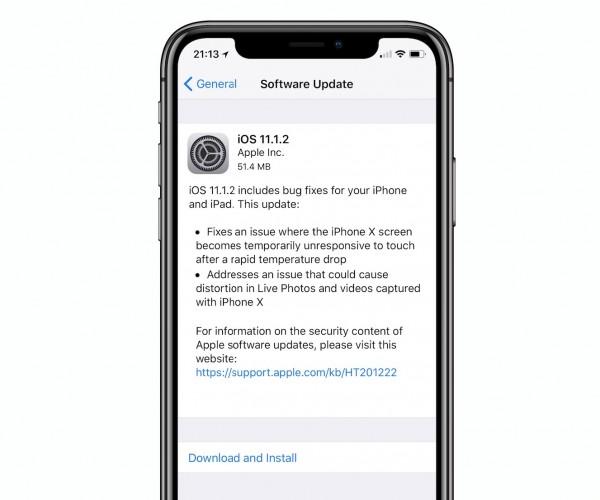 iOS 11.1.2 عرضه شد