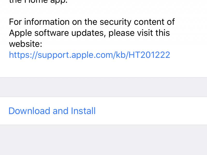 iOS 11.2.1 و tvOS 11.2.1 عرضه شد