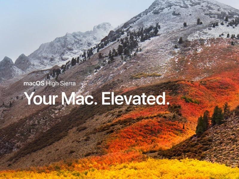 نسخه نهایی macOS High Sierra 10.13.3 عرضه شد