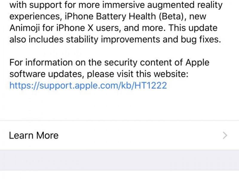 نسخه نهایی iOS 11.3 عرضه شد
