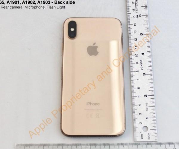 انتشار تصاویری از نسخه طلایی iPhone X