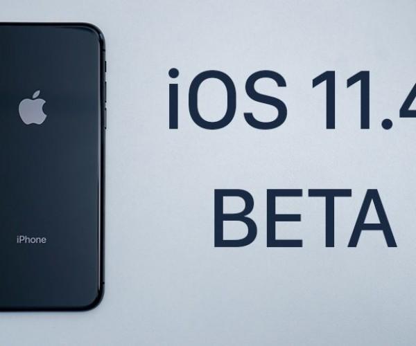 اولین نسخه آزمایشی iOS 11.4 عرضه شد