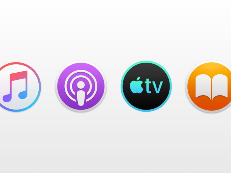 در نسخه بعدی macOS، سرویسهای آیتونز در قالب اپلیکیشنهای مجزا عرضه خواهند شد.