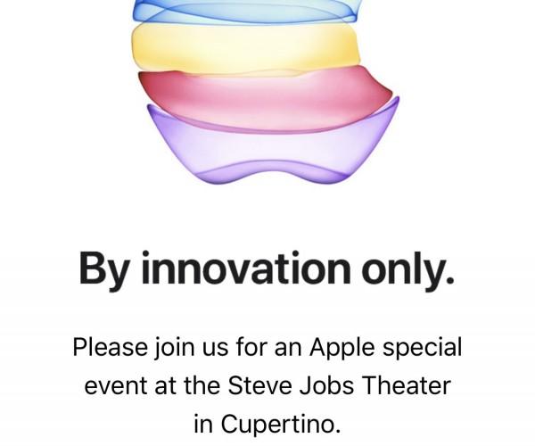 اپل دعوتنامه کنفرانس ۱۹ شهریور را ارسال کرد
