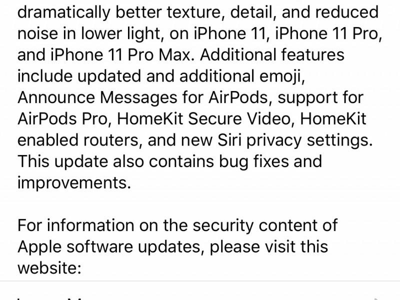 نسخه نهایی iOS 13.2 عرضه شد