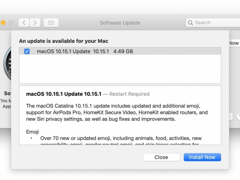 نسخه نهایی macOS Catalina 10.15.1 عرضه شد