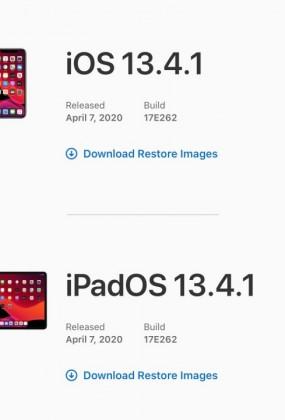 نسخه جدید iOS 13.4.1 و iPadOS 13.4.1 عرضه شد