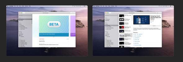 آپدیت اپلیکیشن Apple Developer برای macOS
