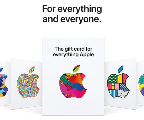 اپل گیفت کارتهای جدید یکپارچه خود را معرفی کرد