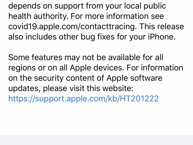 نسخه نهایی iOS 13.7 و iPadOS 13.7 عرضه شد