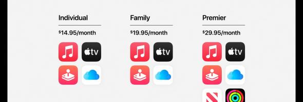 معرفی سرویس جدید اپل: باندل Apple One