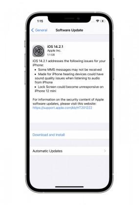 نسخه جدید iOS 14.2.1 برای iPhone 12 Pro/Max/mini عرضه شد