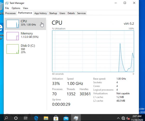 نصب سیستمعامل Windows 10 ARM64 به صورت مجازی روی پردازنده M1