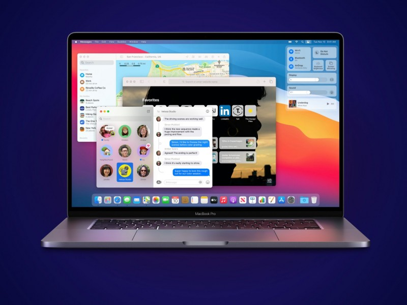 نسخه نهایی macOS BigSur 11 عرضه شد