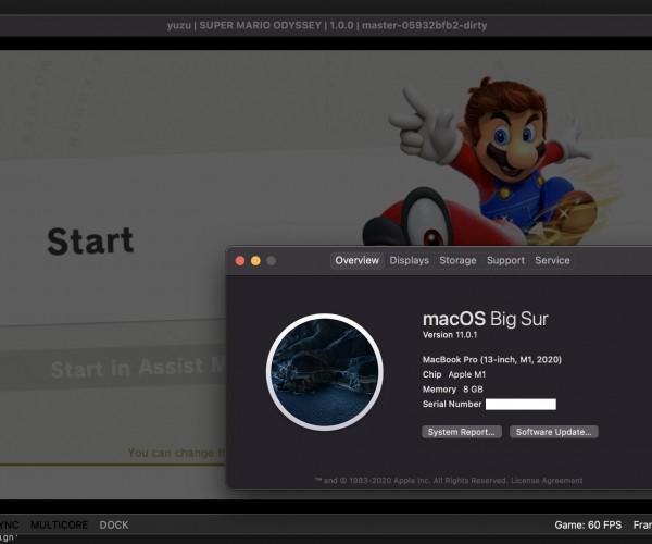 اجرای موفقیتآمیز بازیهای Nintendo Switch روی پردازنده M1