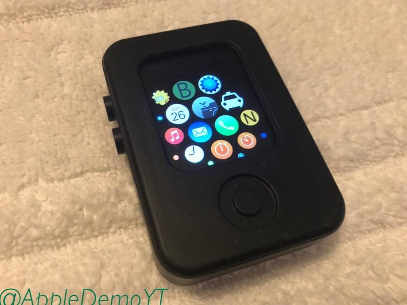 تصاویری از نمونه اولیه Apple Watch