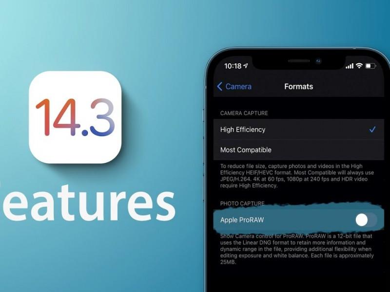 نسخه نهایی iOS 14.3 و iPadOS 14.3 عرضه شد