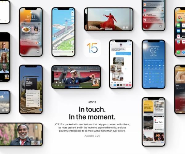 نسخه نهایی iOS 15 و iPadOS 15 عرضه شد
