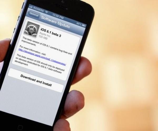 iOS 6.1 GM در مراحل تست نهایی