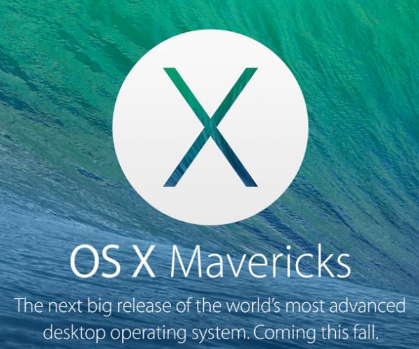 احتمال عرضه نسخه نهایی OS X Mavericks در اواخر اکتبر