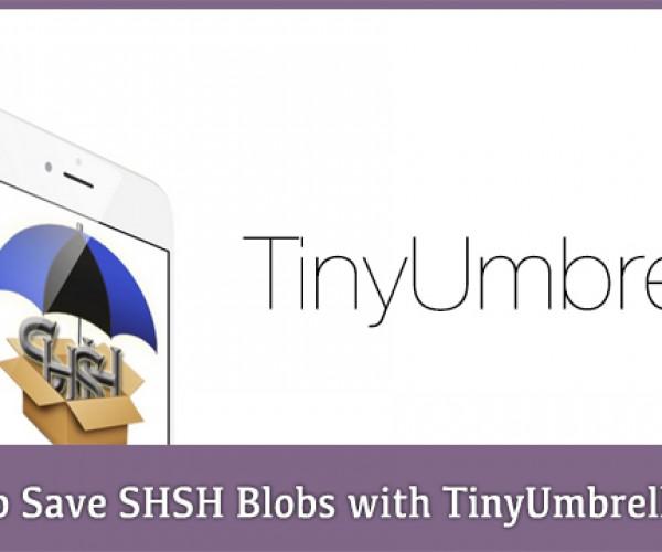 انتشار نسخه جدید TinyUmbrella جهت ذخیره SHSHها مستقیما از خود دستگاه