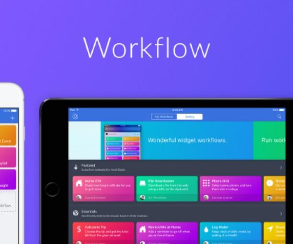 اپلیکیشن Workflow توسط اپل خریداری شد