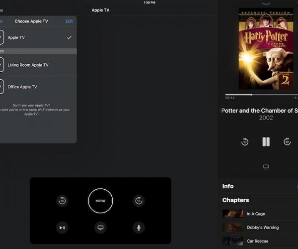 نسخه جدید اپلیکیشن Apple TV Remote با پشتیبانی از آیپد عرضه شد