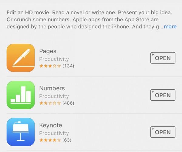 اپل اپلیکیشنهای iMovie، GarageBand و iWork را برای iOS و macOS رایگان گرد