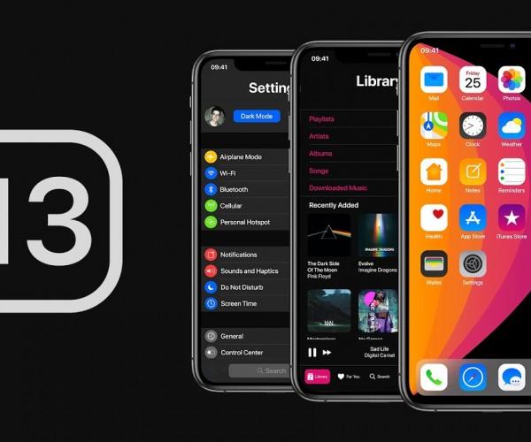 انتشار جزئیات جدیدی از قابلیتهای iOS 13: دارک مد