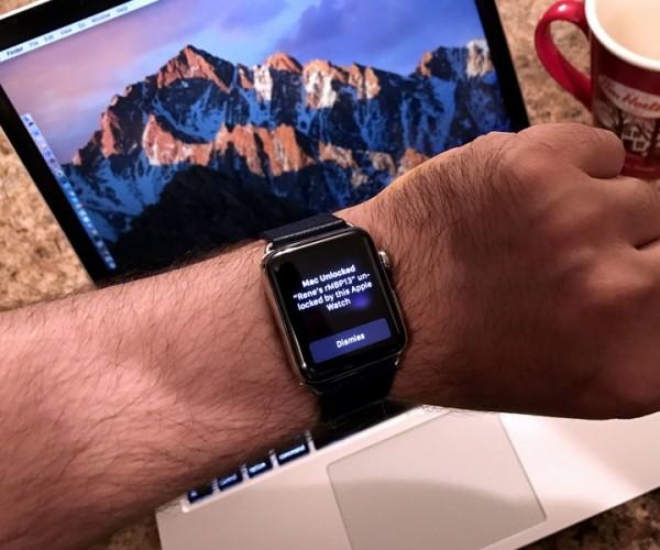 گسترش استفاده از اپل واچ برای تأیید هویت در macOS 10.15
