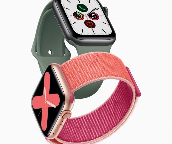 اپل واچ سری ۵ رونمایی شد