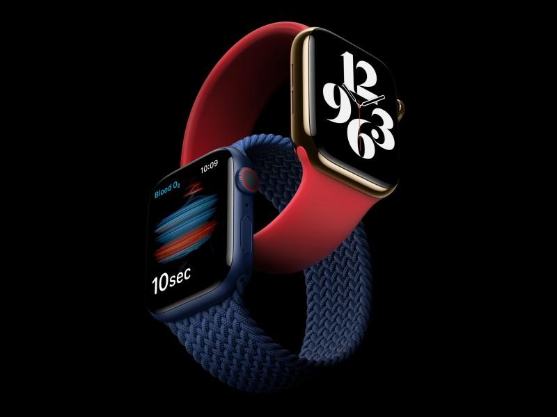 اپل واچ سری ۶ معرفی شد