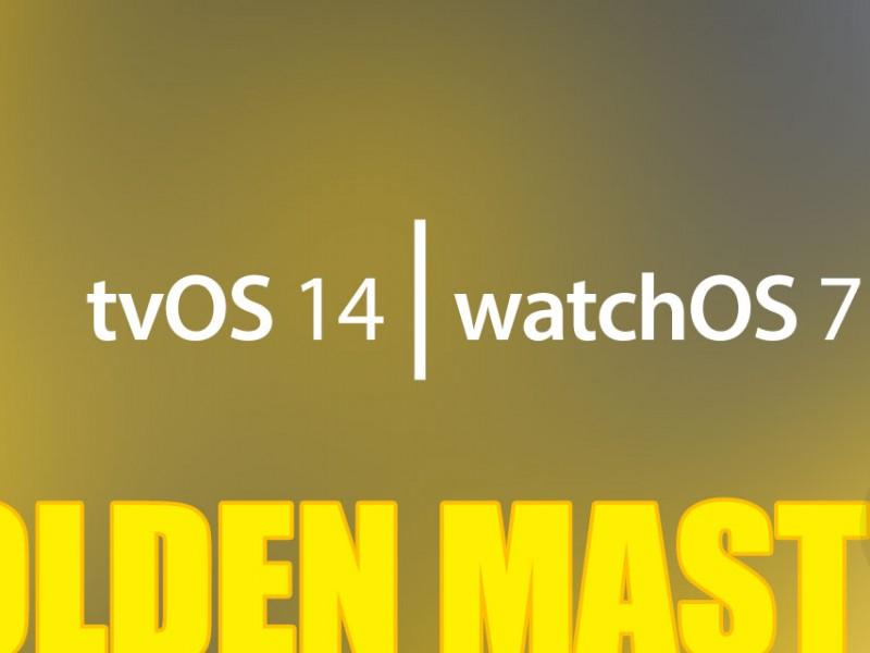 نسخه جدید watchOS 7 GM و tvOS 14 عرضه شد
