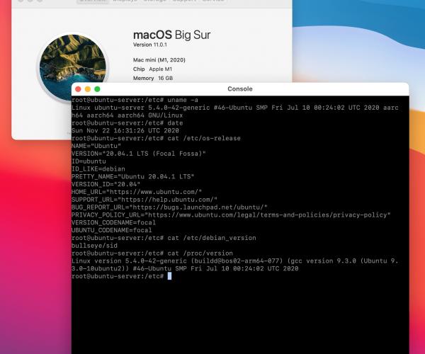 نصب سیستمعامل لینوکس به صورت مجازی روی پردازنده M1