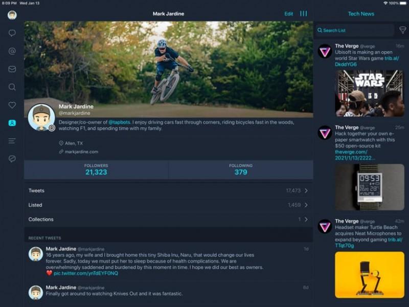 نسخه جدید اپلیکیشن Tweetbot 6 عرضه شد