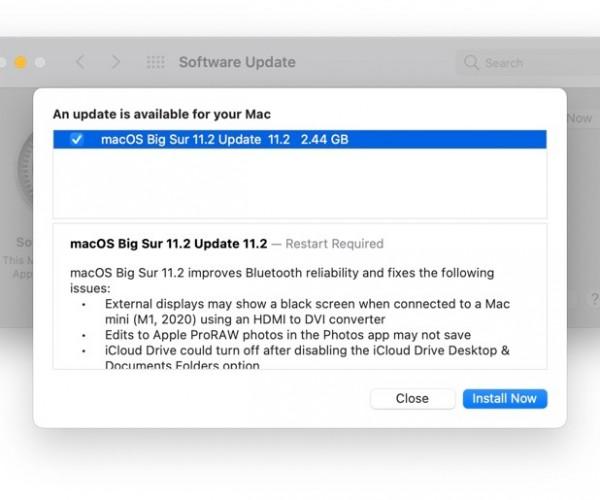 نسخه نهایی macOS Big Sur 11.2 عرضه شد