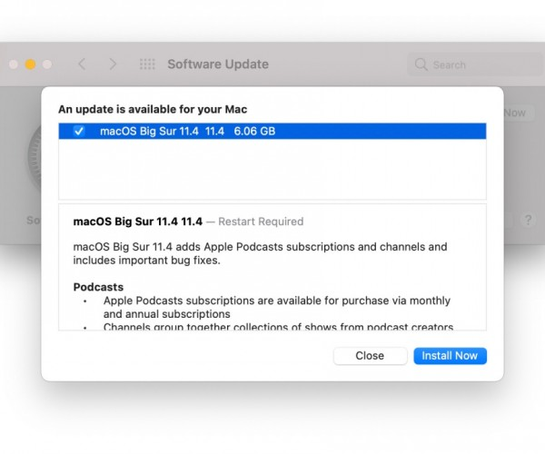 نسخه نهایی macOS Big Sur 11.4 عرضه شد