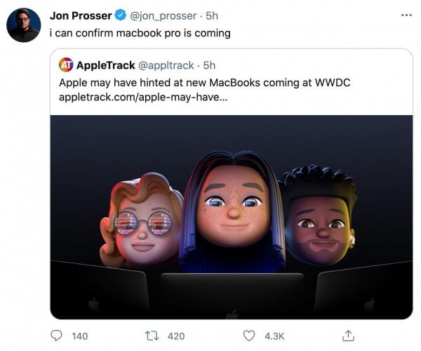 احتمال معرفی نسل جدید Macbook Pro در کنفرانس WWDC 2021
