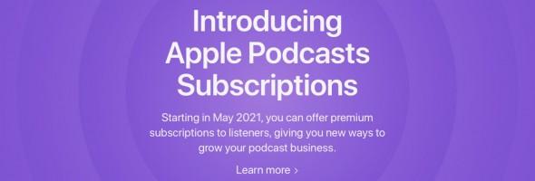سرویس خرید حق اشتراک در اپلیکیشن Podcasts با تاخیر ارائه خواهد شد