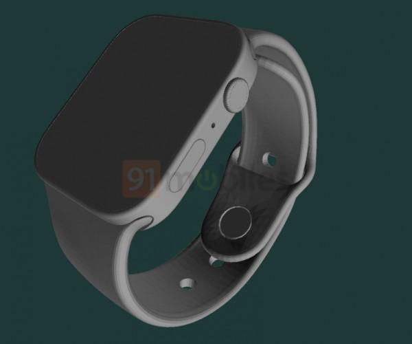 انتشار رندرهایی از طراحی جدید اپل واچ سری ۷
