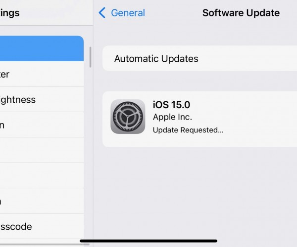 نسخه بتا ۶ از iOS 15 و iPadOS 15 عرضه شد