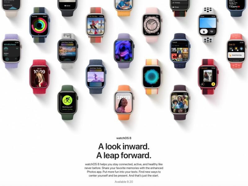 نسخه نهایی watchOS 8 عرضه شد